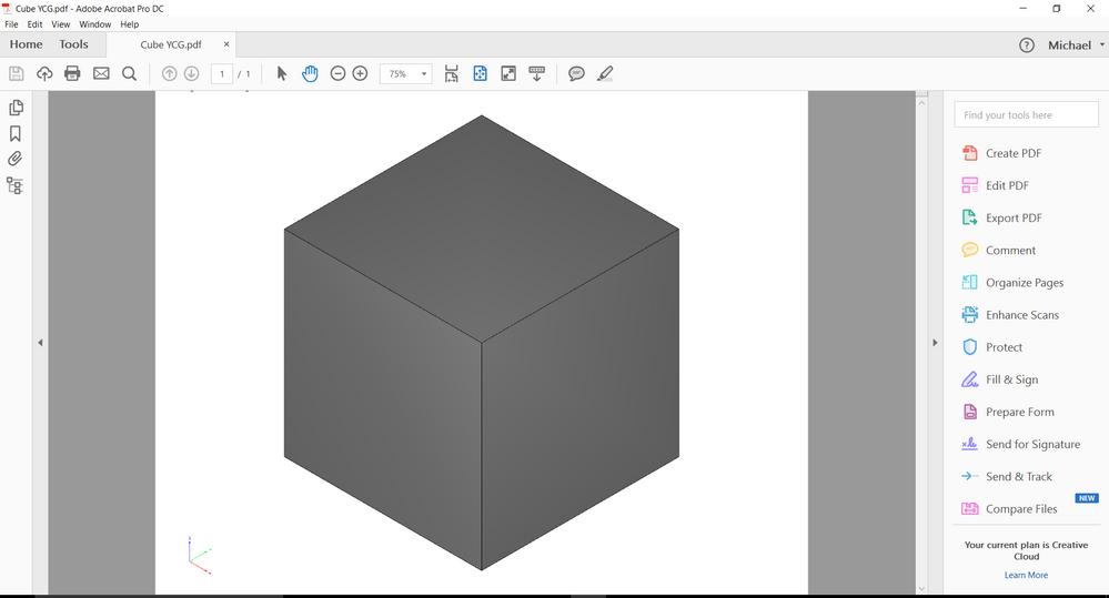 inventor 3d pdf template download