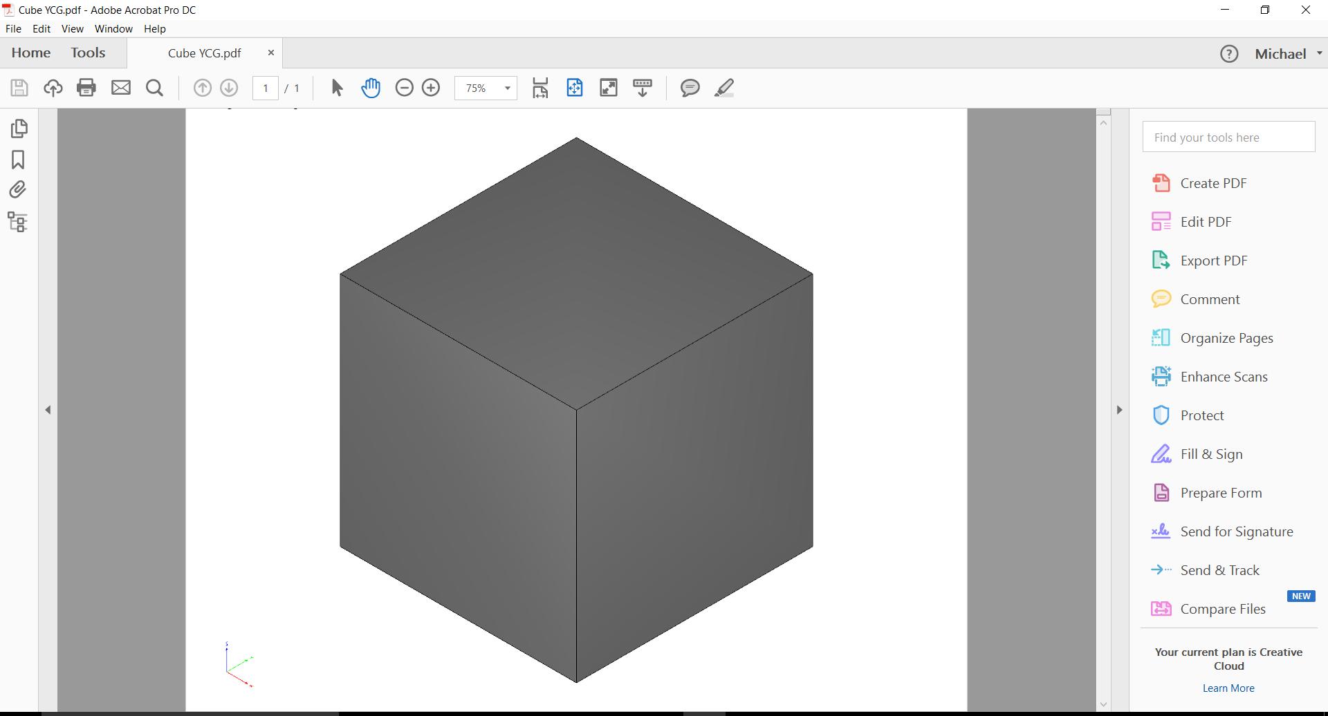 3D PDF Error - Inventor 2017 - Error building javascript for