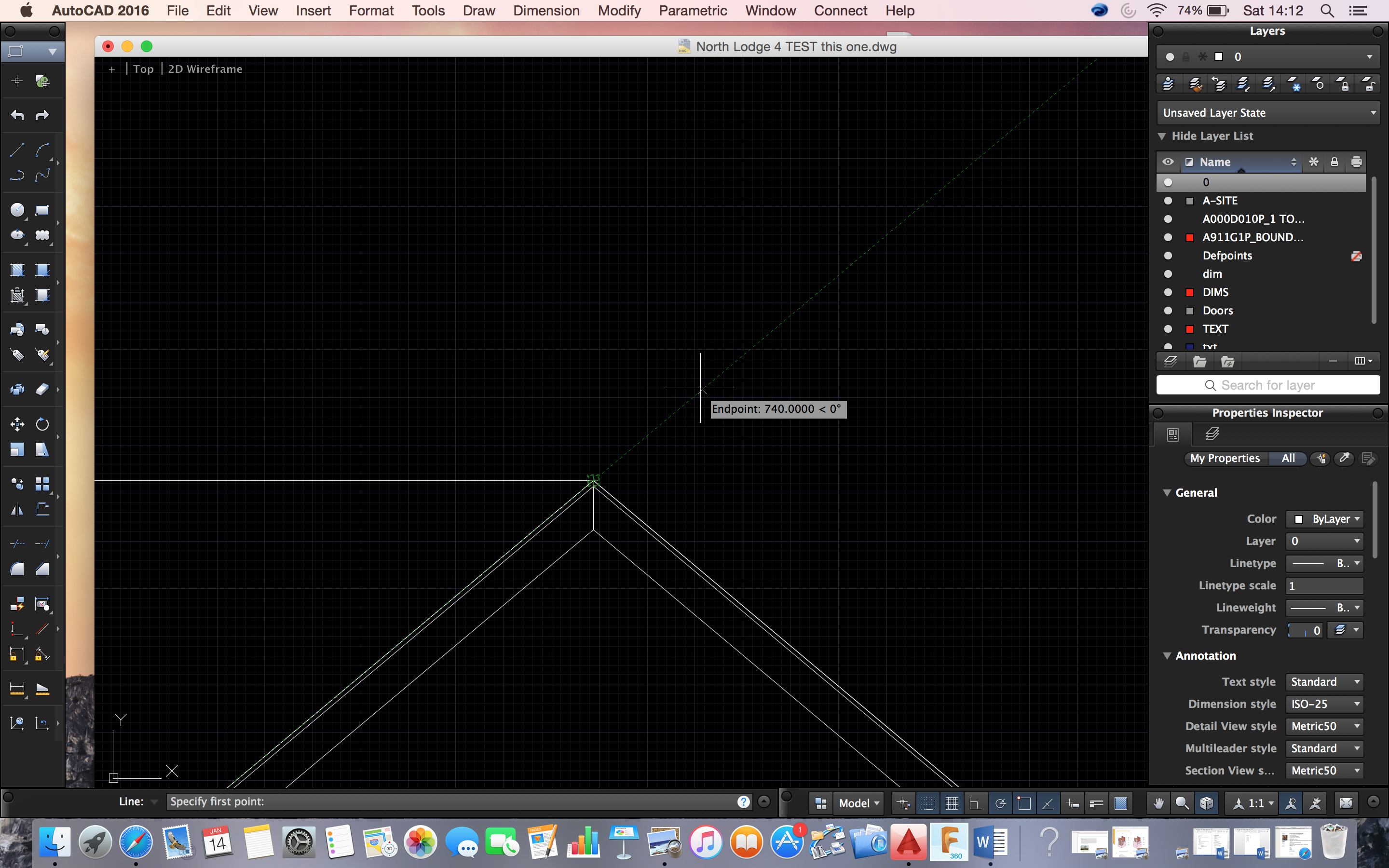 Solved how to draw a line by specifying angle Autodesk