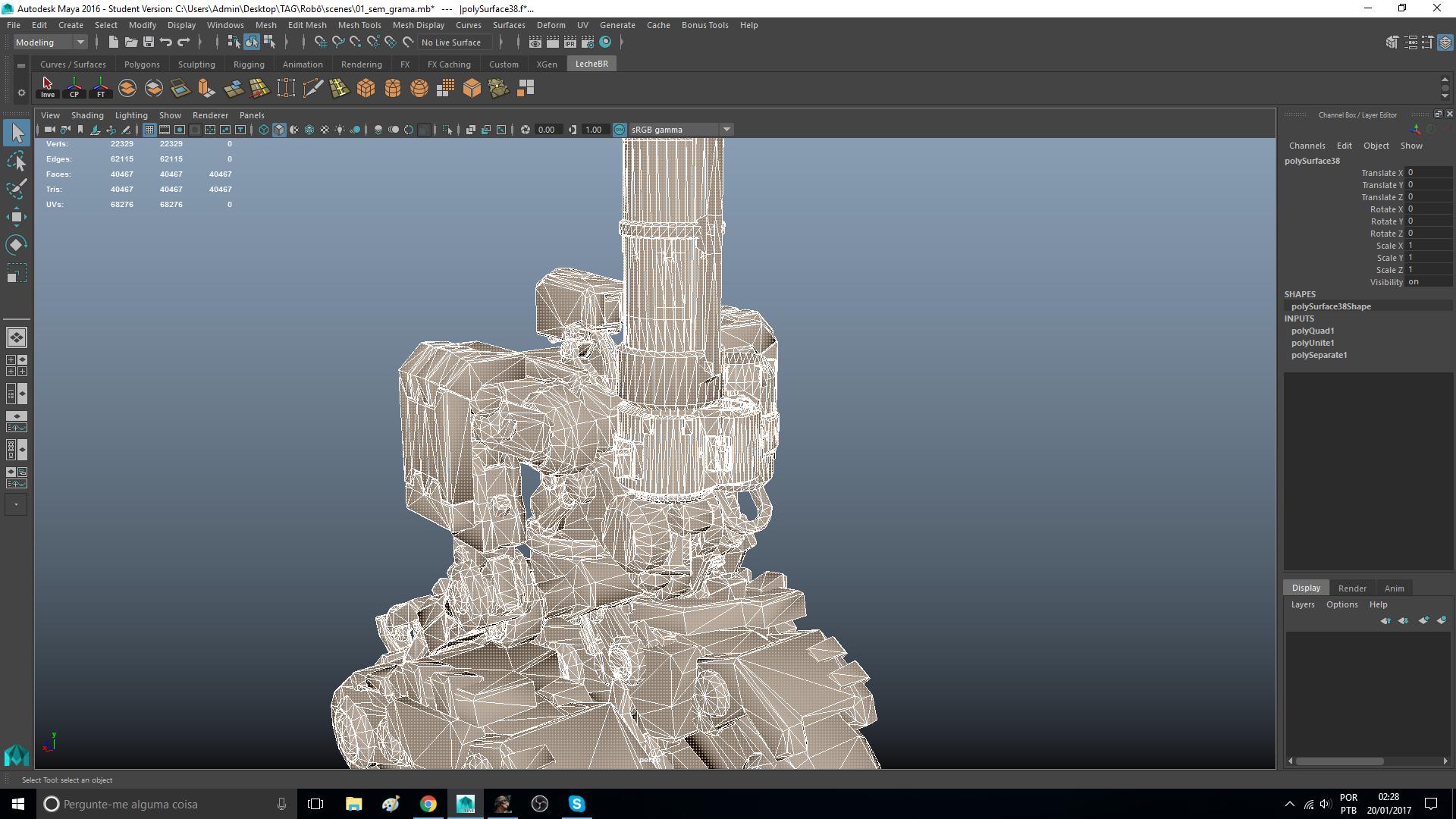 Solved: Impossible to Quadrangulate - Autodesk Community- Maya
