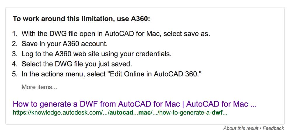 dwf files on mac AutoCAD 2017 - Autodesk Community- AutoCAD