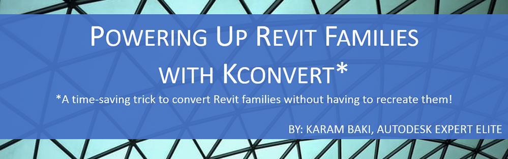 Revit Tip: Save Time Converting Revit Families - Autodesk