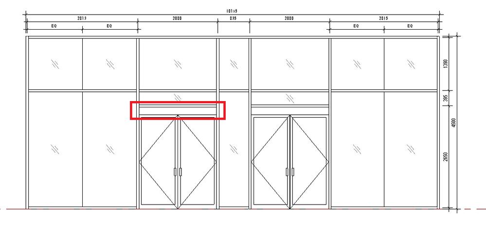 Solved Door Operator In Curtain Wall Door Autodesk