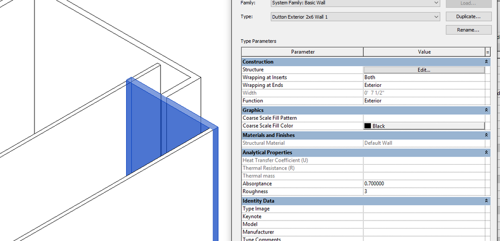 how to change wall color in revit
