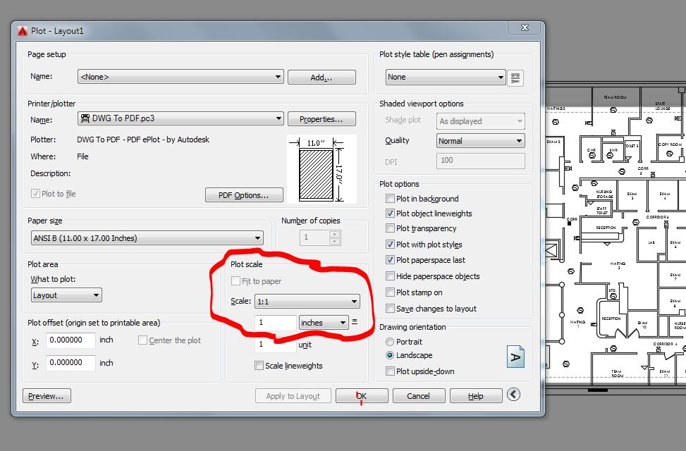 scale  existing drawing autodesk community