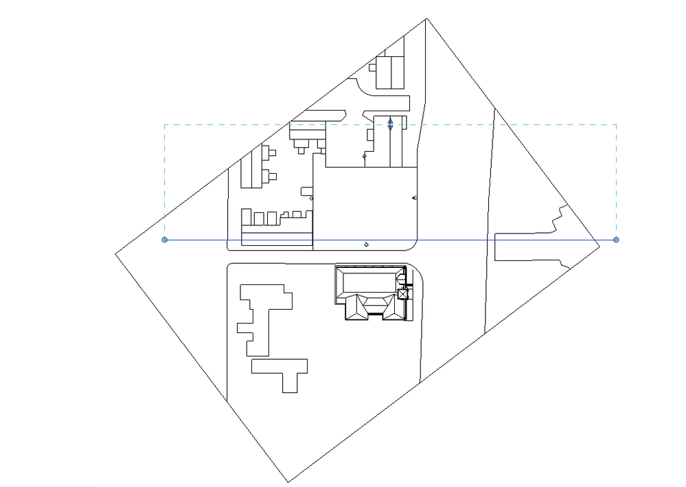 Elevation Marker Plan : Solved elevation view seeing geometry that is behind the