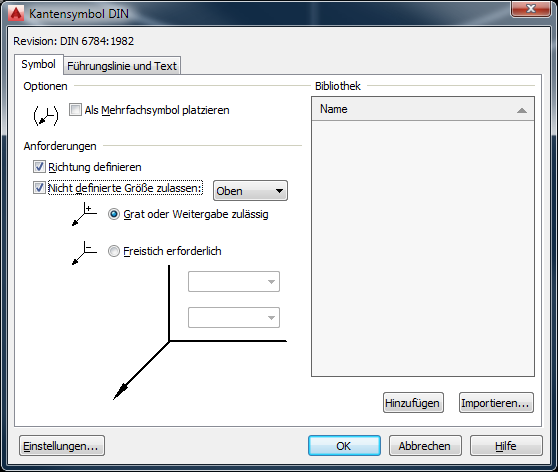 DIN 6784 Kantensymbole (edges of working parts) - Autodesk