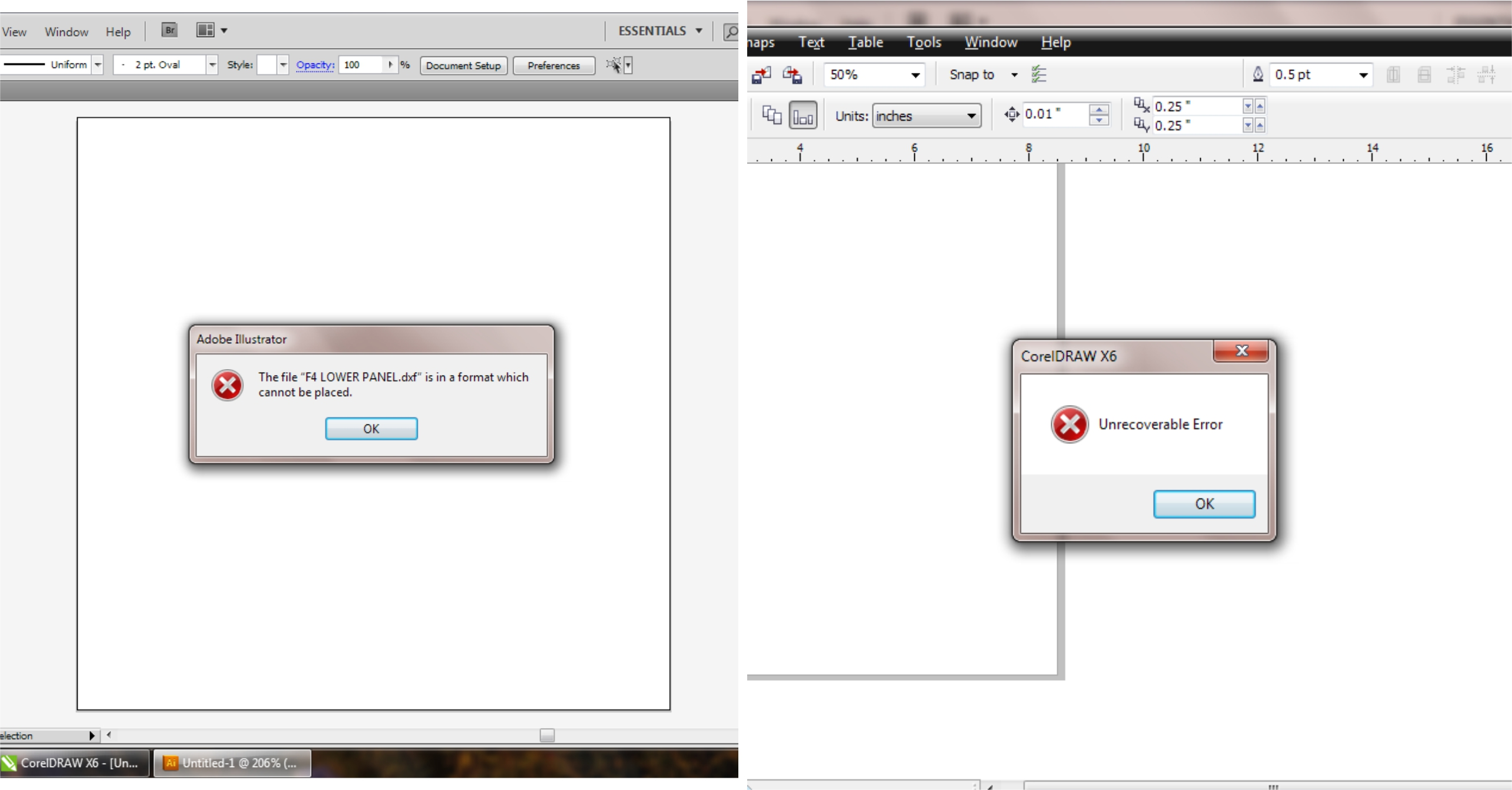 Solved: Can't Open/Import DWG or DXF files in Illustrator or