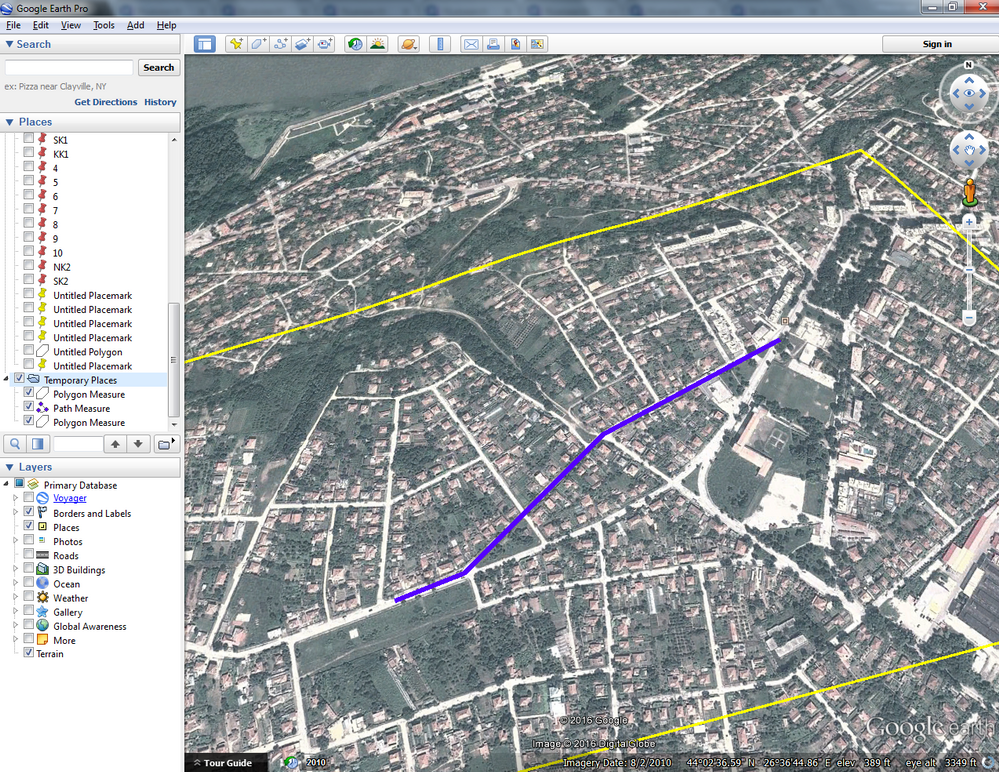 How to export the object of the civil3D to Google Earth