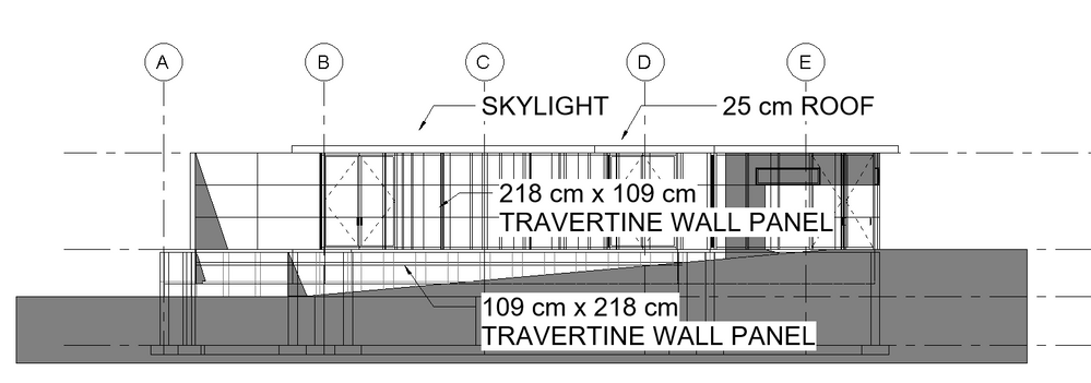 solved: transparent walls in elevation - autodesk community