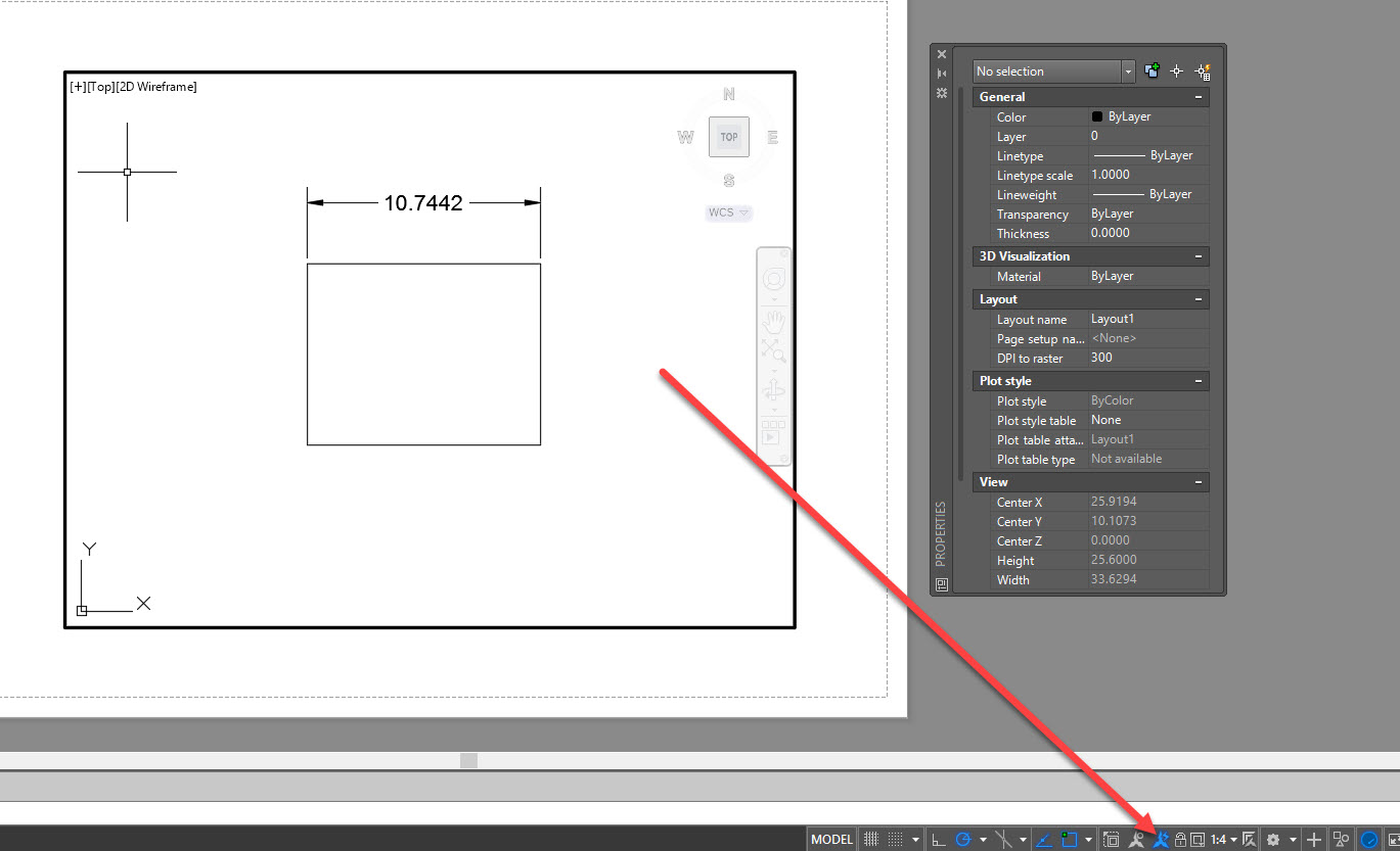 autocad dimension scale to viewport pdf