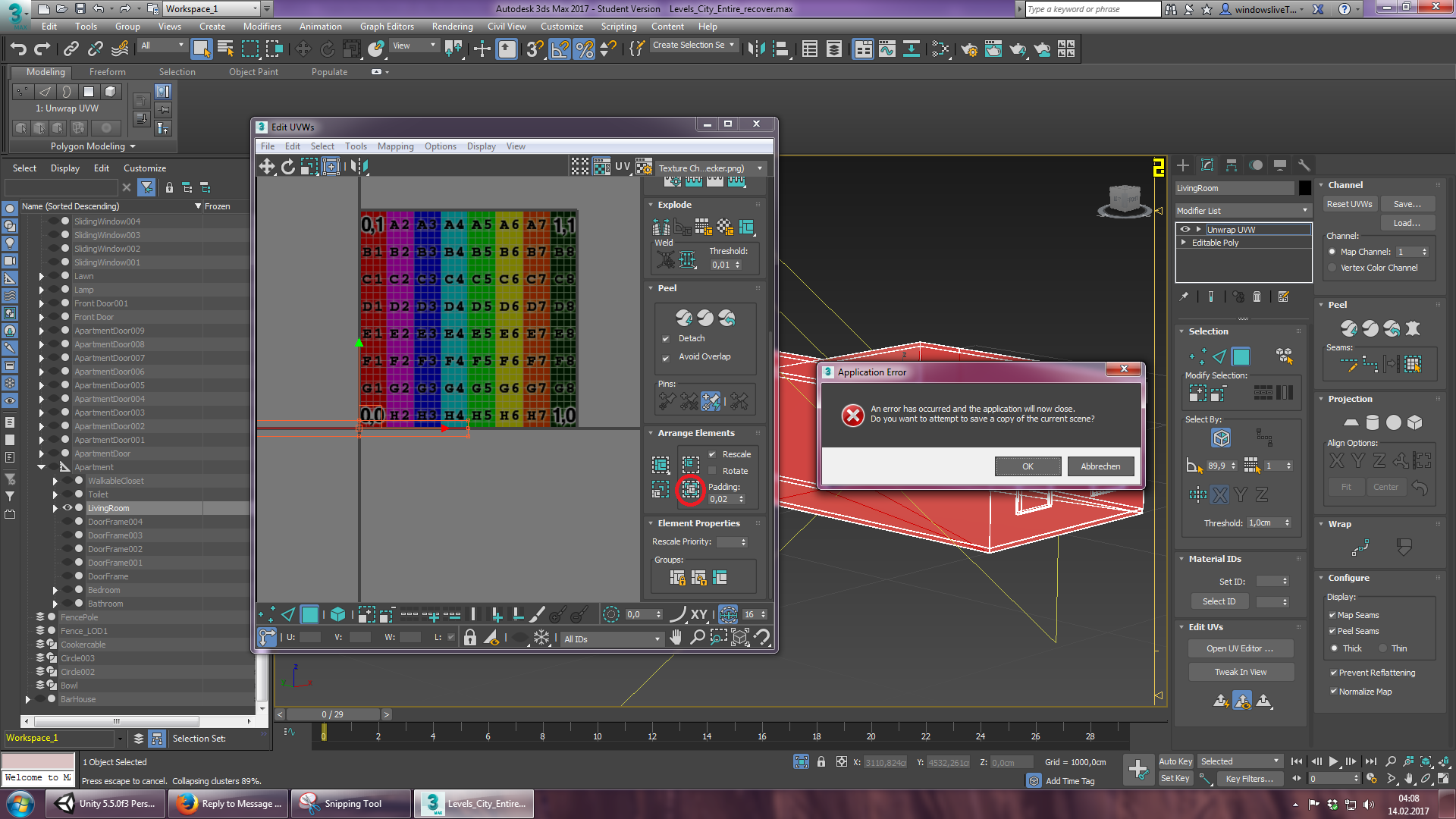 3ds Max 2017 is filled with bugs, glitches and crashes ...