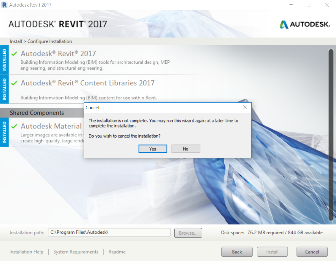 Solved: Can't Install Material Library 2017 - Medium Image Library