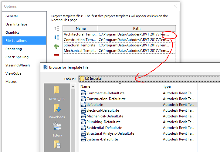 Revit student version autodesk community then go ahead and set it as the default family template location pronofoot35fo Image collections