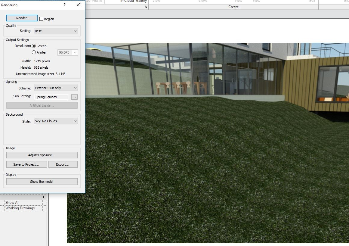 how to make grass on revit