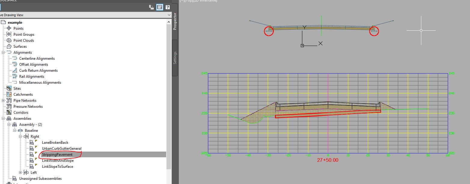 Solved: Stripping TopSoil my assembly - Autodesk Community- Civil 3D