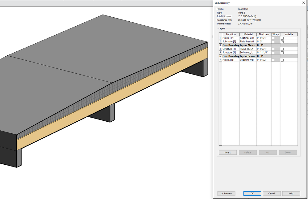 Solved Best Practice For Tapered Roof Or Floor Autodesk