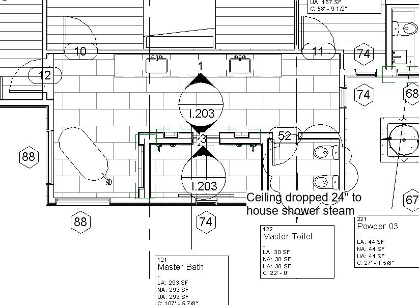 Spot Elevation In Plan Revit : Interior elevation marker section markers autodesk