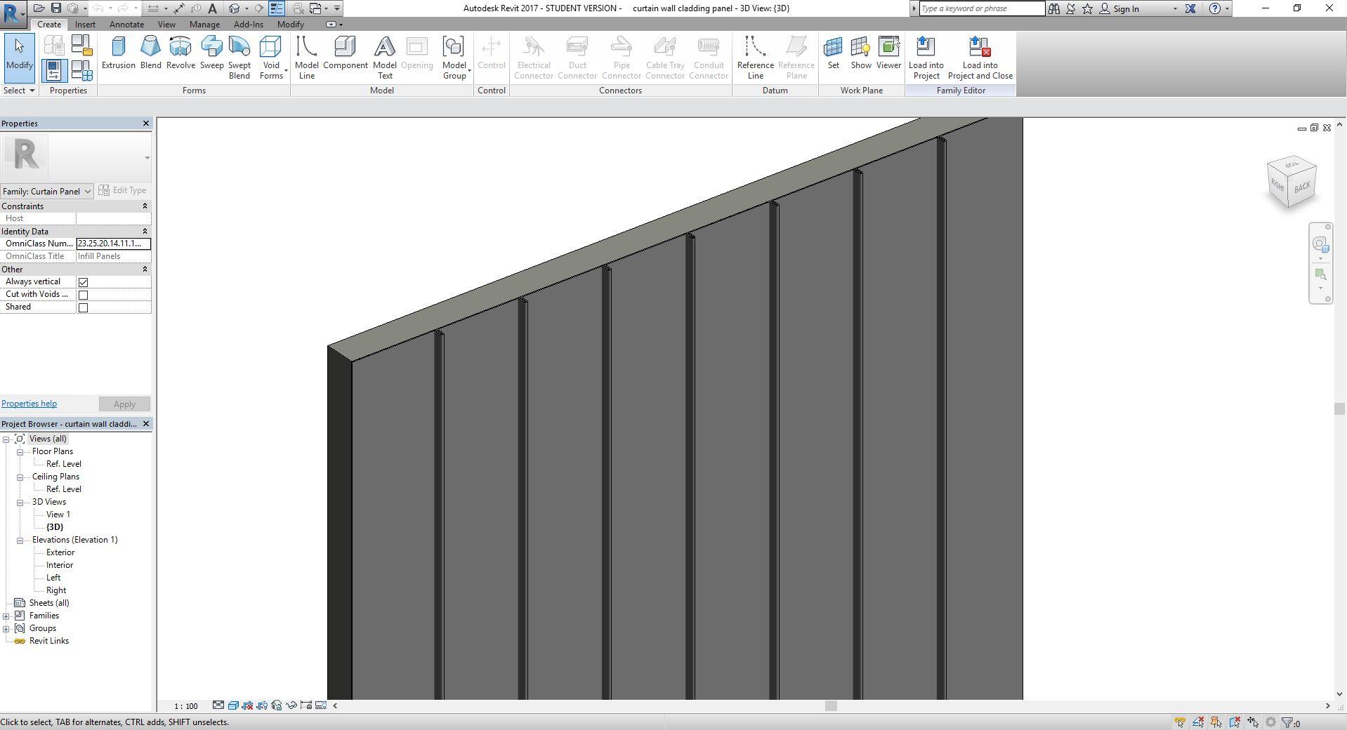 Solved Custom Curtain Wall Profile Repeat Autodesk