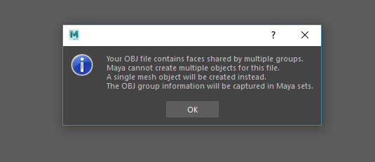 Solved: Problem with OBJ Import - Autodesk Community- Maya