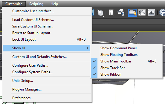 Solved: Missing Modifier Panel Toolbar and Ribbon - Autodesk