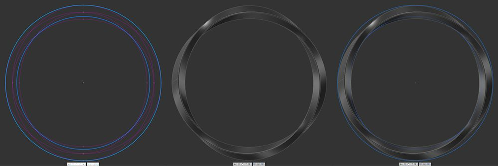 Solved: Circular Twisted Torus - Is this shape possible? - Autodesk