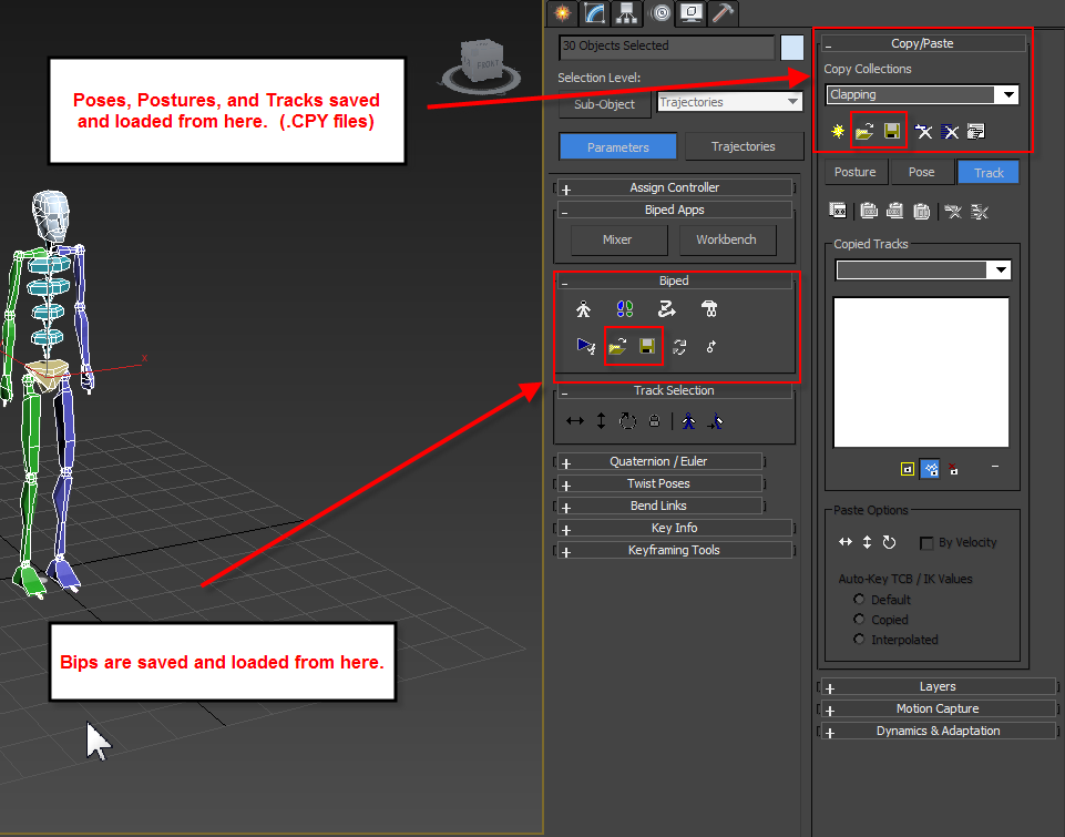 Solved: wont load bip files - Autodesk Community- 3ds Max