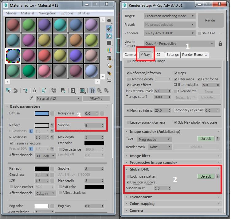 Solved: Reflection Subdivisions - Autodesk Community- 3ds Max