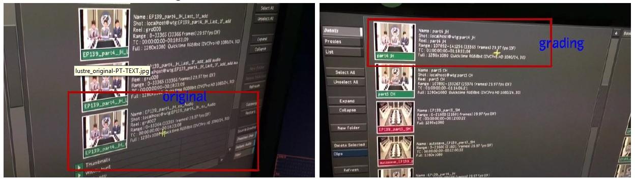 Flame Premium Lustre 2015x3sp1 and Final Cut Pro 7 0 3