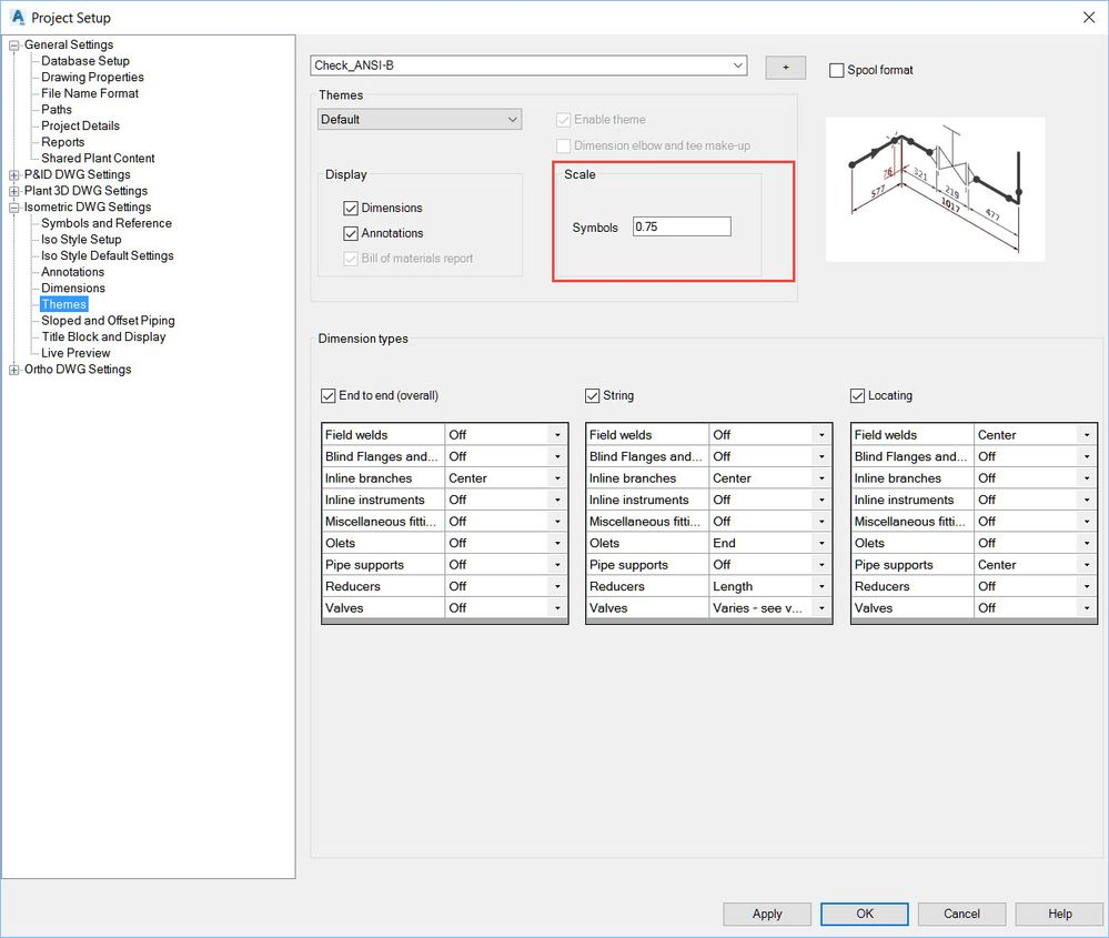 Pipe scaling ISO - Autodesk Community- AutoCAD Plant 3D