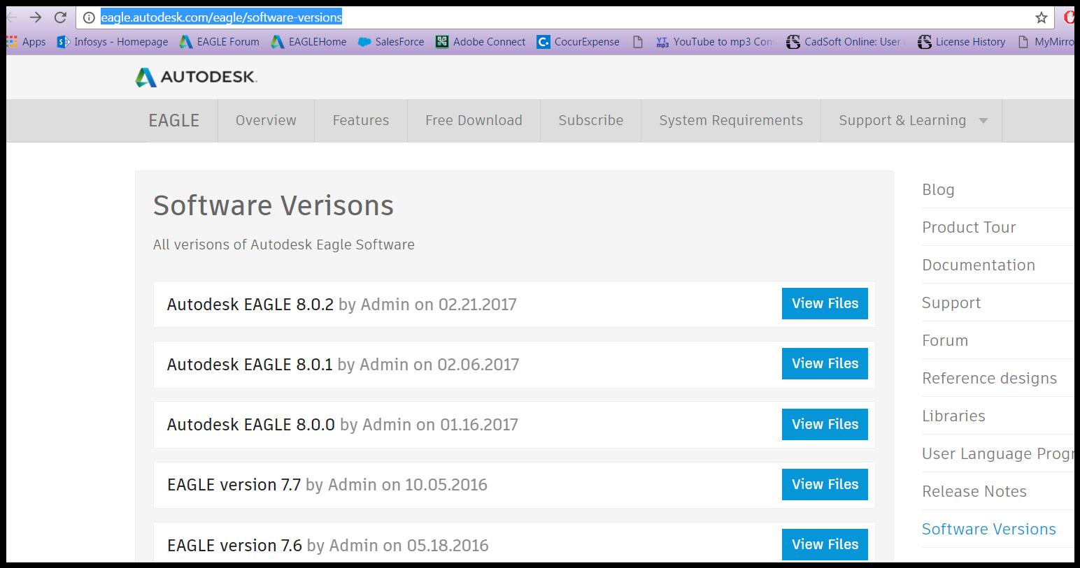 eagle cadsoft 7.7 download