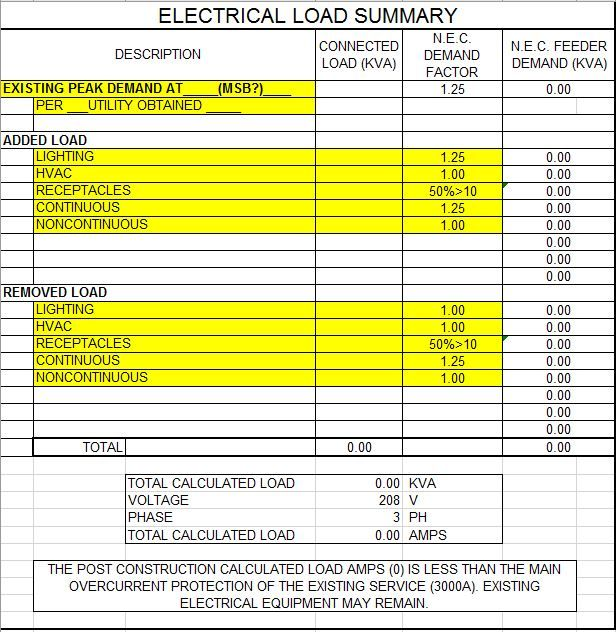 Electrical Load Summary - Autodesk Community- Revit Products