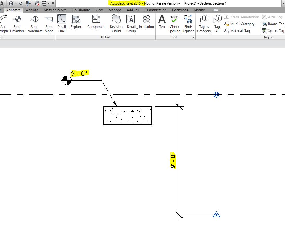 Spot Elevation In Plan Revit : Elevation at top label autodesk community