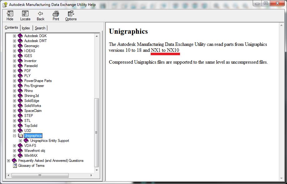 Solved: import prt from NX11 error - Autodesk Community