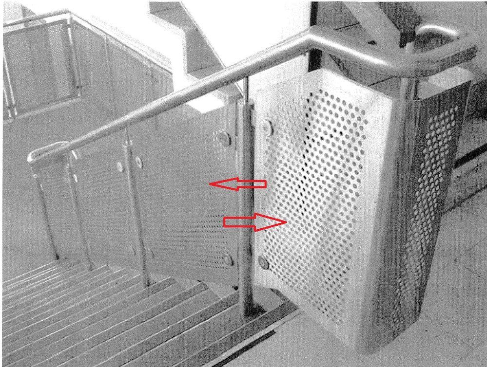 Stair railing panel (Perforated Panel) - Autodesk Community- Revit