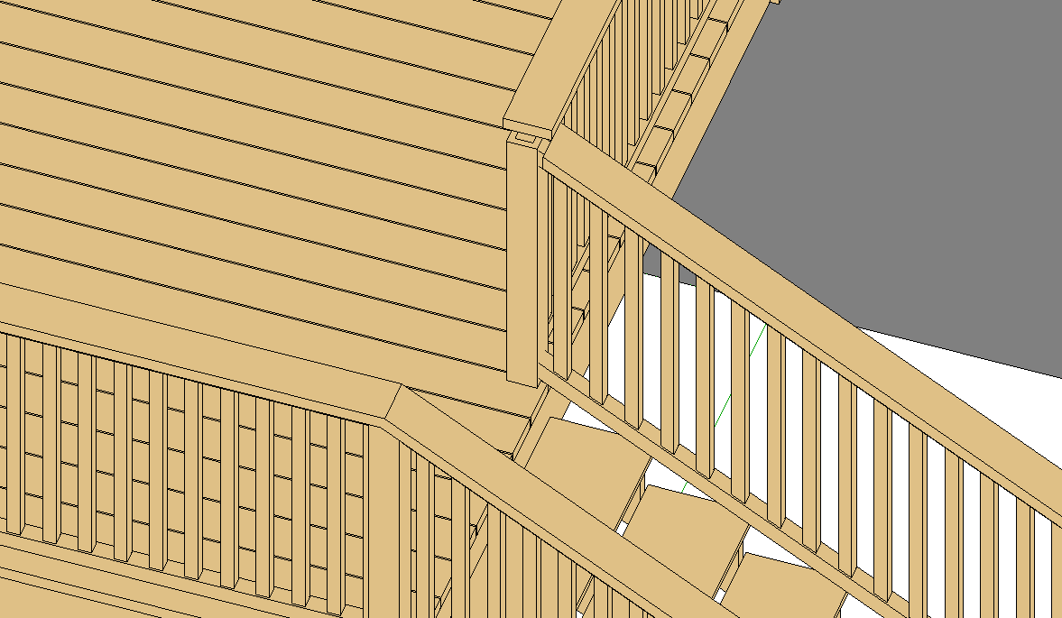 Solved: Join railing and extend top rail - Autodesk Community- Revit