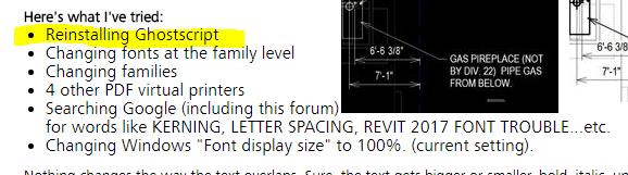 Solved: Text in Print Preview (and in prints) Overlaps Itself