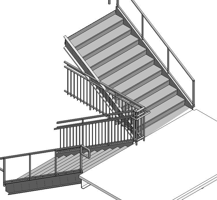 Solved: Joining Rails from Separate Stairs - Autodesk