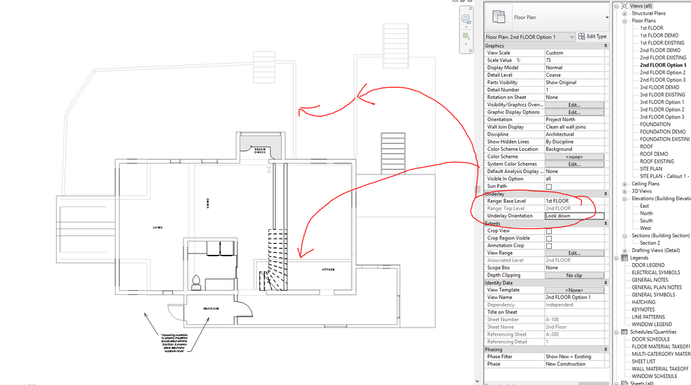 Underlay's won't show up  - Autodesk Community- Revit Products