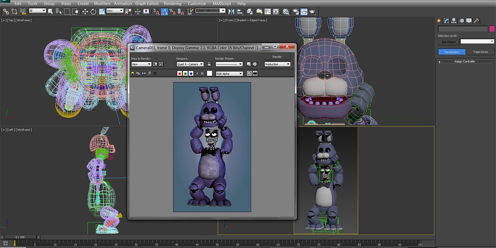 """Rendering Engine Used for the """"Five Nights at Freddy's ..."""