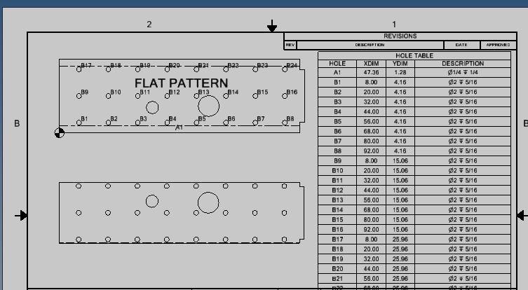 Hole Table Creation Autodesk Community