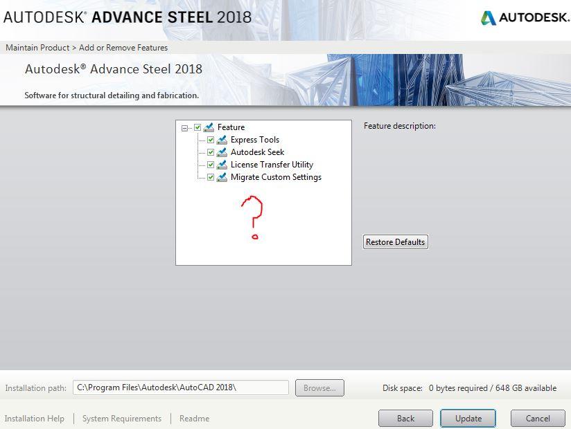 Autodesk Advance Steel 2018 license width=