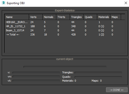 Solved: How to export to OBJ with MTL correctly - Autodesk