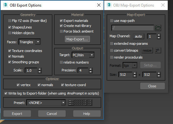 Solved: How to export to OBJ with MTL correctly - Autodesk Community