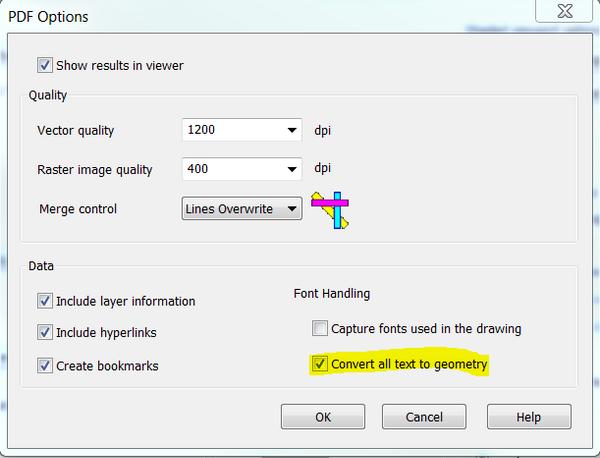 autocad print to pdf problem