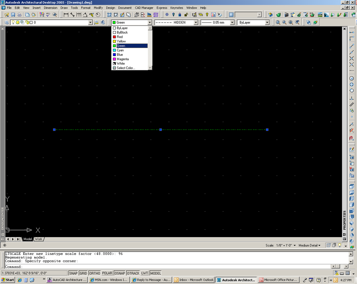 Solved AutoCAD 2013 Toolbar That Controls Color Or