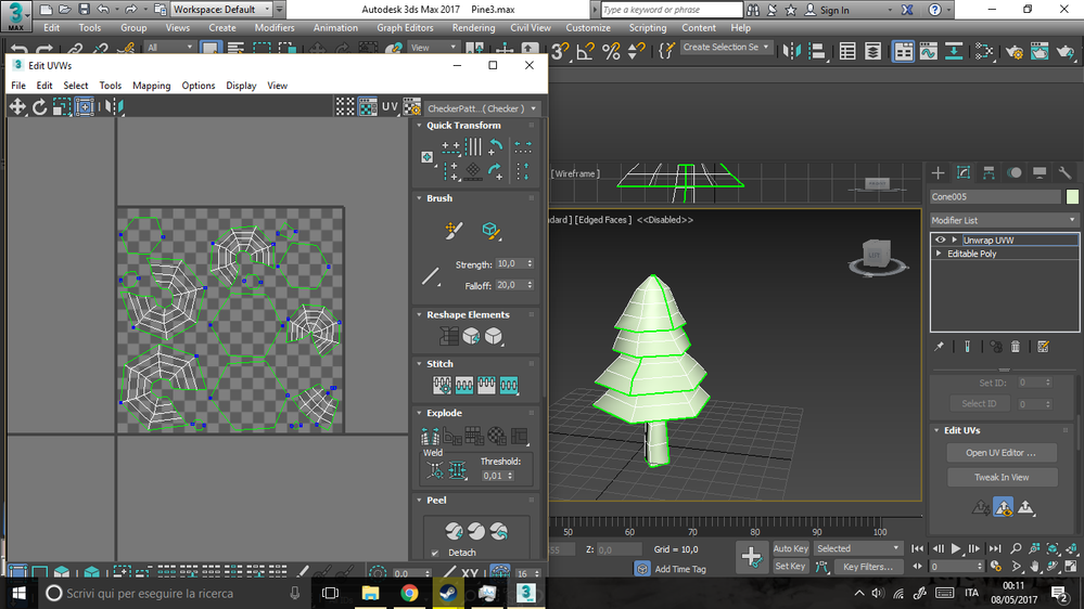 Solved: Help - UV unwrapping from 3ds max, to Zbrush, to UE4