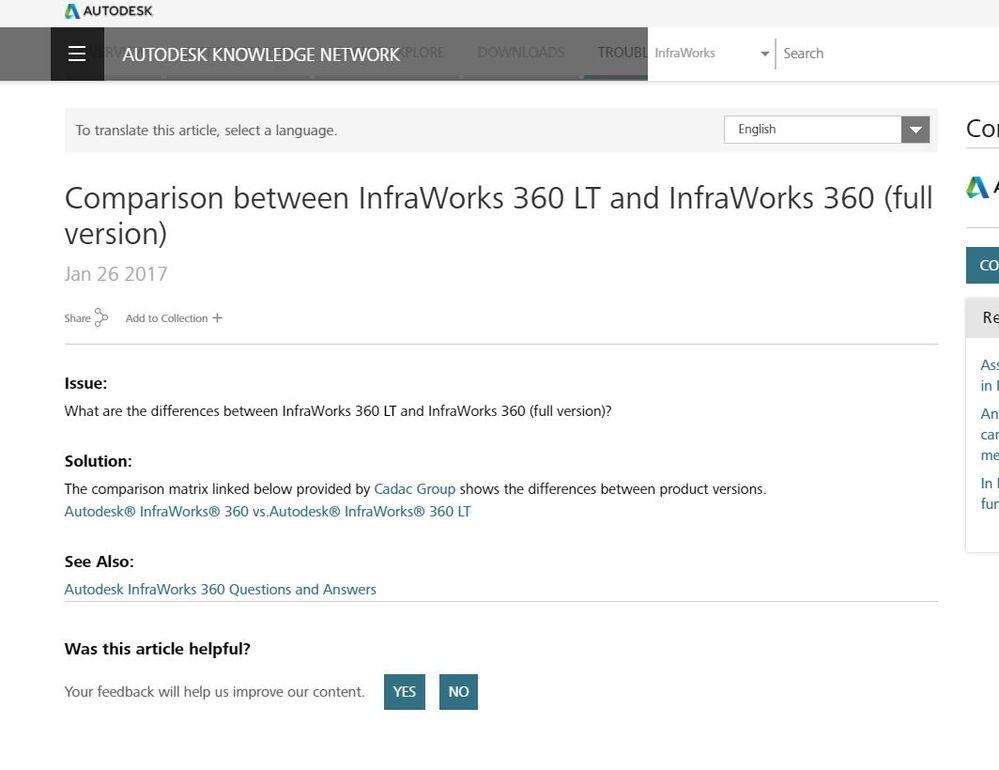 360 Lt Autodesk Community Infraworks