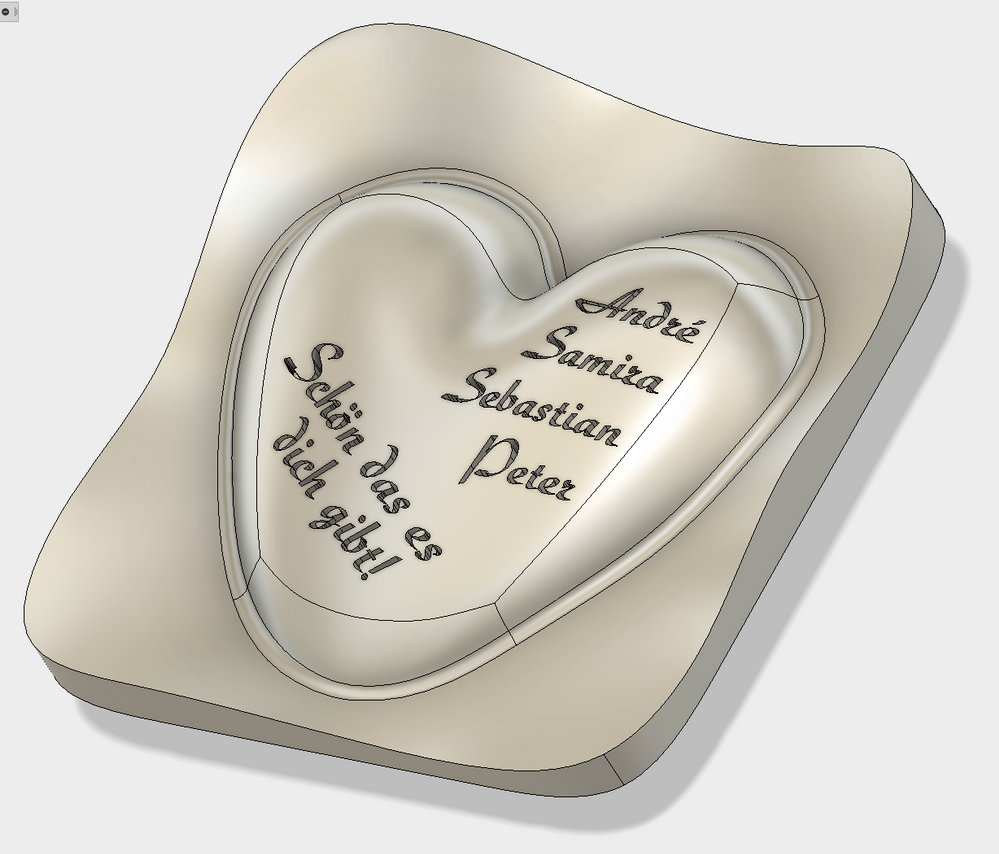 Solved: Vcarve on curved surface - Autodesk Community