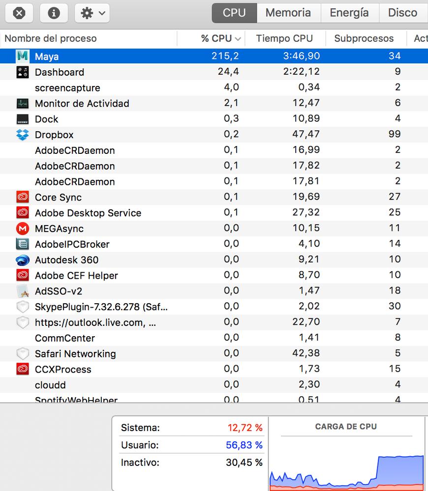 Maya 2017 Update 3 working bad in iMac - Autodesk Community